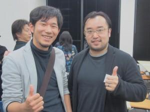 ビジネスプロデューサーの道幸武久さんと出版セミナーにて