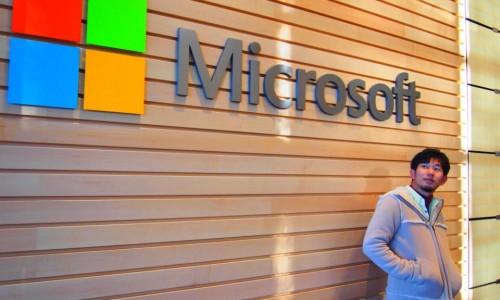 シアトルのマイクロソフト本社へ