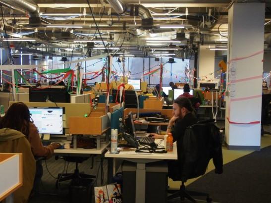 Zappos(ザッポス)のオフィス