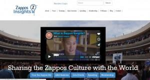 Zappos(ザッポス)インサイトのHP