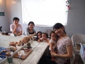 沖縄・京都カフェ「サンスーシィ」へ