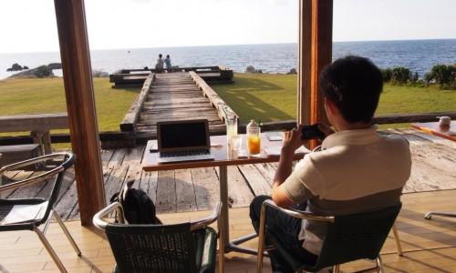 福井の絶景カフェ「cafe mare」