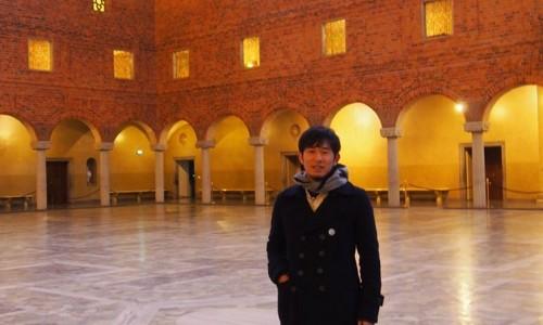 ノーベル賞の授賞式が行われるストックホルムコンサートホール
