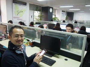 中国インハナ視察ツアー