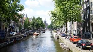 オランダの水路