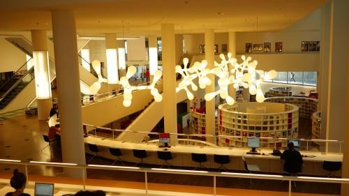 アムステルダム図書館中心部