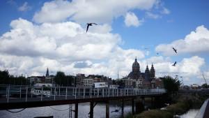 オランダ・アムステルダムの空