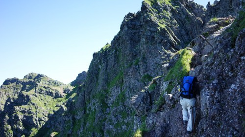 八ヶ岳の横岳