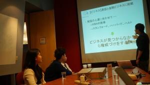 ビジネス、英語と金融ビジネスに挑戦する