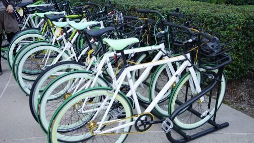 エバーノートの自転車