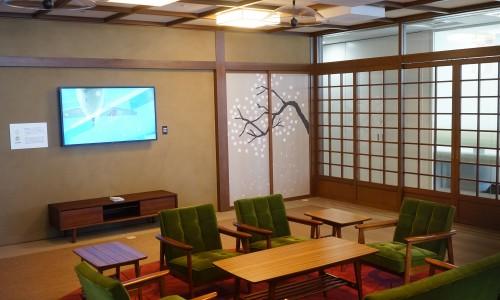 googleオフィス 和の部屋