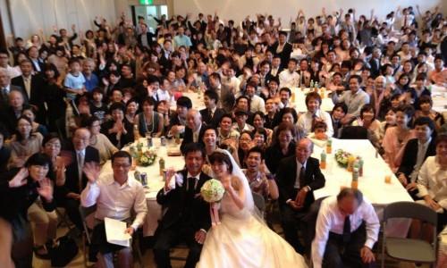今津新之助さん結婚式