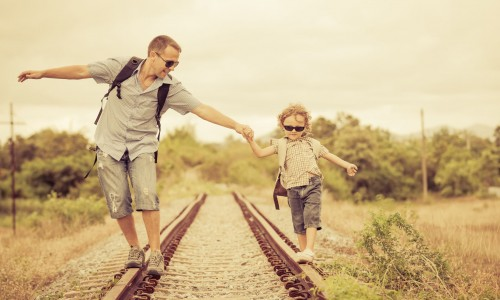 父と息子の旅