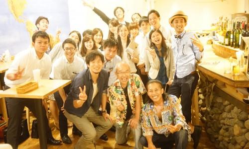 中村隊長、笠井亮吾、中村あきらトークライブ集合写真