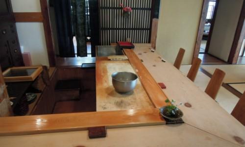 鎌倉寿司「和さび」のカウンター