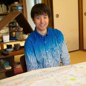 空想地図作家の今和泉 隆行、地理人