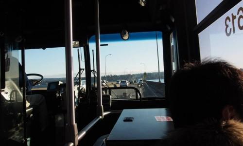 ワシントン湖を越え
