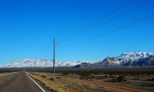 ラスベガスまでの道のり