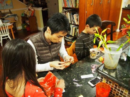 日本文化の折り紙をプレゼント