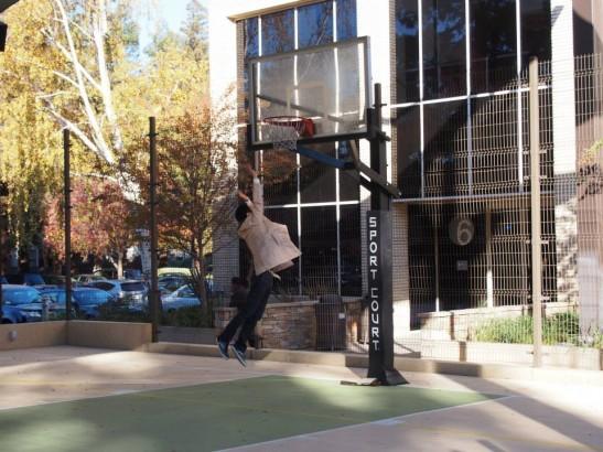 ebay(イーベイ)のバスケットコートで遊ぶ