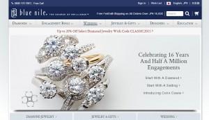 ダイヤモンドの通販Blue Nile