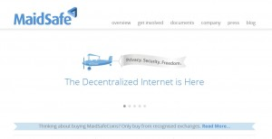 分散型インターネットMaidSafe