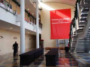 Oracle(オラクル)本社のカンファレンスルーム