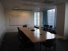 Oracle(オラクル)本社の会議室