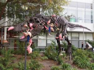 Google本社の恐竜