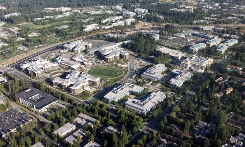 Microsoft(マイクロソフト)本社は巨大なキャンパス