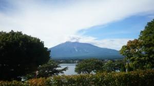 サニーデリゾートからは富士山が見える