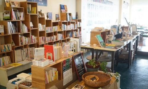 店内の本屋