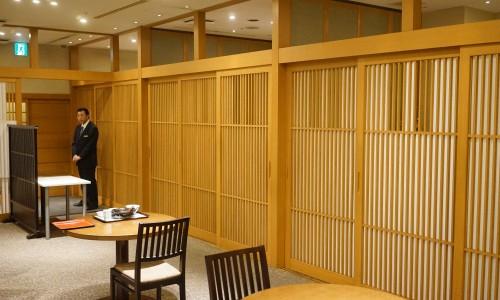 三田ばさらの店内個室あり