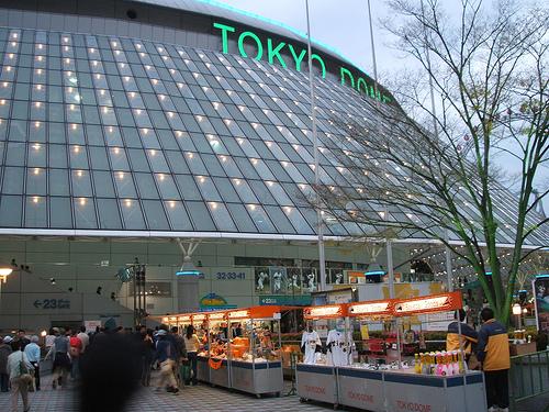 東京ドームでアルバイト