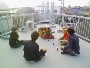 シャアハウスの集まり
