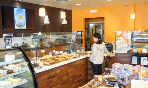 Satura Cakesの店内