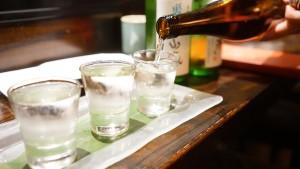 日本酒の試しのみ
