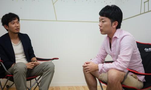 株式会社タナクロ田中淳也と中村あきら