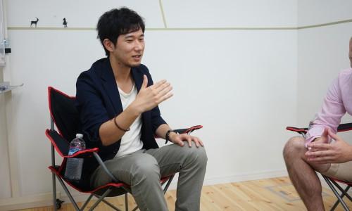中村あきらとタナクロ田中淳也との対談