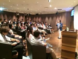 森若ジョン幸次郎の東京講演会
