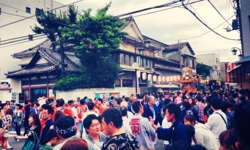 鶴見のお祭り