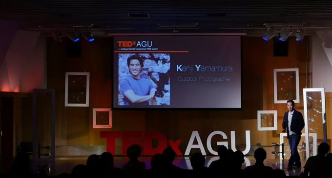 TEDで話すパシャデリック山村さん