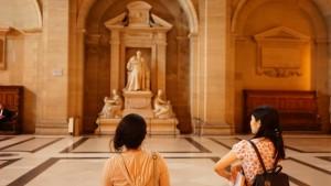 パレ・ド・ジュスティスの銅像