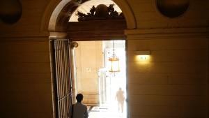 パレ・ド・ジュスティスの扉