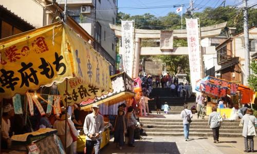長崎くんちの諏訪神社