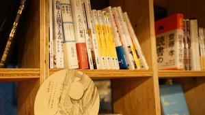 お客さんがつくる本棚