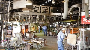 月夜野工房(月夜野ぴーどろパーク)ガラス工場