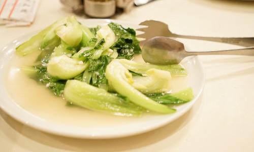 三和楼の青菜炒め