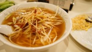 三和楼の葱油麺(ネギそば)