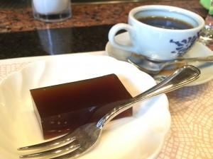 コーヒーと和菓子